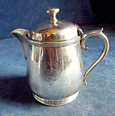 Good RARE ~ McKENZIES RAILWAY Hotel ~ NDOLA N.Rhodesia ~ Covered JUG ~ c1907