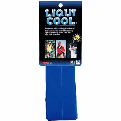 Unique Sports Liqui Cool, Headband Cooling-Chilly Towel-Tennis-Golf Blue LIQ-B
