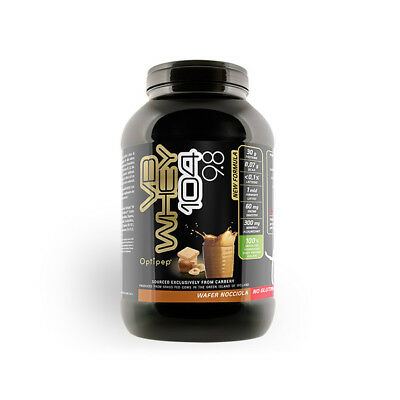 Net Integratori VB Whey 104 9.8 900 gr Proteine isolate Wafer Nocciola