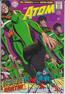 DC Silver Age Comic THE ATOM 38 (1968) Last Issue £5.99 Post Free UK