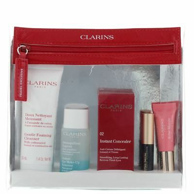 Clarins Perfect Beauty Essentials 6 Piece Gift Set for Women Her. NEW