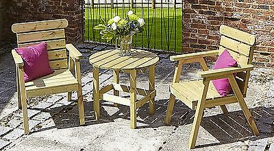 75cd15a0f50 Tom Chambers Garden Chairs   Patio Table - Natures Range Thornton Tea for  Two