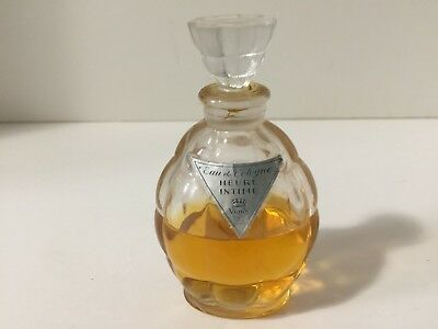 Vintage Collectible French Perfume Bottle Vigny Heure Intime