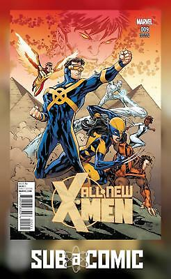 ALL NEW X-MEN #9 LASHLEY CONNECTING C VARIANT (MARVEL 2016 1st Print) COMIC