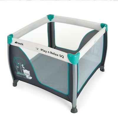 Hauck Play N Relax Sq Playpen Travel Bed spielcenter 90x90cm Forest Fun