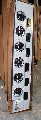 1MM612R Eaton 1 Phase Ring 6 Sockets residential meter stack module 125A