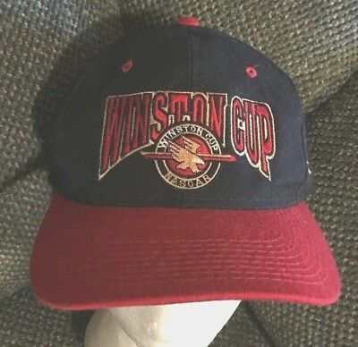 5d9f050108a vintage NASCAR WINSTON CUP BALL CAP hat SNAPBACK snap back RACING RACE CAR  RARE