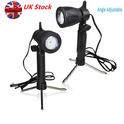 2 Photography Continuous Top Studio Light 12 LED Lamp Table Lighting Desk Light