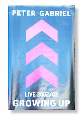 Peter Gabriel - Growing Up Live 2002 2003 Poster - Brand New Official