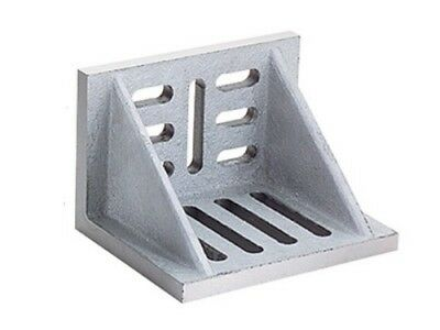 Webbed Angle Plate 8x6x5 Slotted Ground