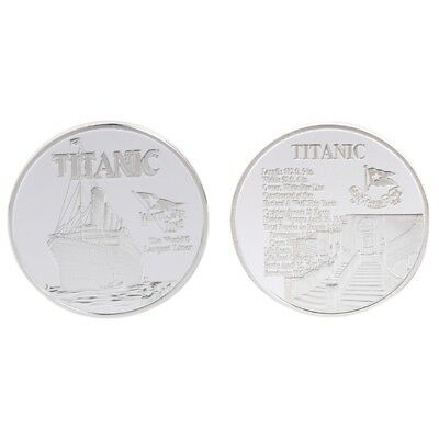 Silver Titanic Ship Incident Commemorative Coin Souvenirs Gifts Collection 2018