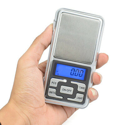 Digital Scale 200g x 0.1g Jewelry Gold Silver Coin Grain Gram Pocket Size Herb