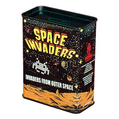 Blechspardose - Space Invaders - Invaders from outer space - Spardose aus Blech