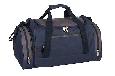 Mens & Boys Sports & Gym Holdall Bag SPORTS TRAVEL WORK SCHOOL LEISURE 07M NAVY