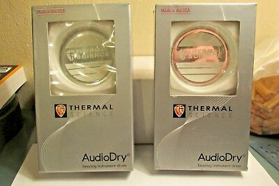 Set of 2 New Autodry Hearing Instrument Dryer new in box