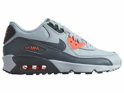 new concept dba88 da348 Nike Air Max 90 Ltr Gs Big Kids 833376-006 Platinum Grey Athletic Shoes Size