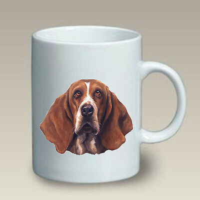 11 oz. Ceramic Mug (LP) - Basset Hound 46021