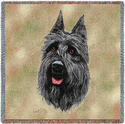 Lap Square Blanket - Bouvier des Flandres by Robert May 1939
