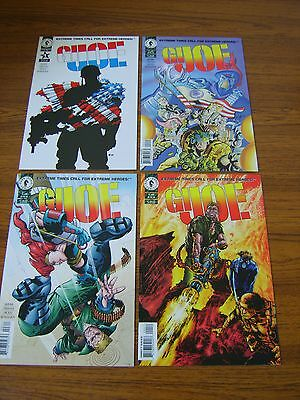 G.i.joe: From The Ashes #1 - 4 Set (Dark Horse) 1995 (4 Issues)