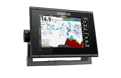 "Expedited Delivery! Simrad GO7 XSR 7"" Plotter Totalscan C-Map Insight Pro 000-14"