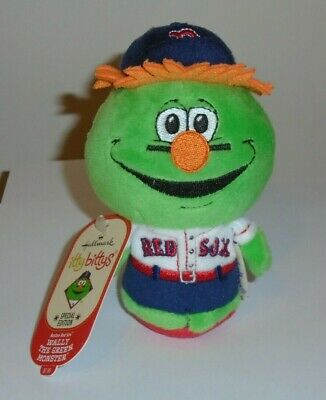 Hallmark Itty Bitty Bittys WALLY THE GREEN MONSTER MLB Boston Red Sox Mascot NWT