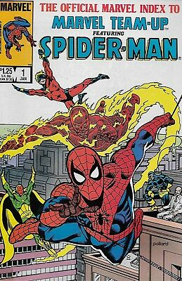 The Official Marvel Index to Marvel Team-up Featuring Spider-Man No.1-6 / 1986