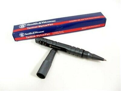 Smith & Wesson S&W Grey Gray Tactical Stylus Pen SWPEN3G