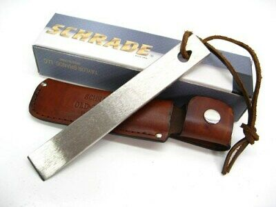 SCHRADE Old Timer HONESTEEL Knife Multi-Tool Sharpening Sharpener + Sheath! HS1