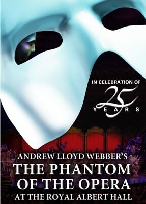 THE PHANTOM OF THE OPERA AT THE ROYAL ALBERT HALL New Sealed DVD