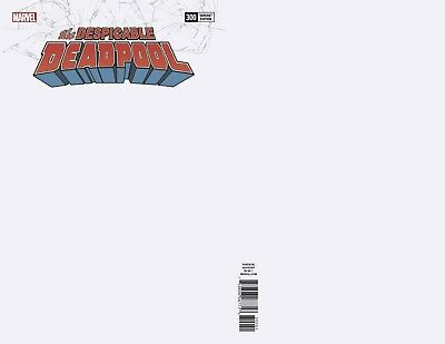 Despicable Deadpool #300 Blank Var (09/05/2018)