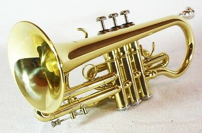 Cornet Gold by Cherrystone with Case and Accessories