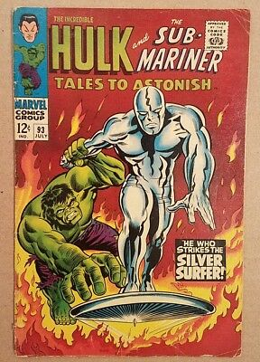 Tales to Astonish #93 VG 2nd Silver Surfer
