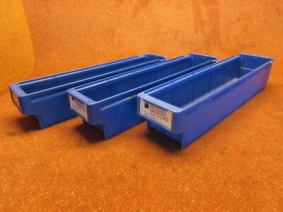 PERSTOP 9121 8x lagerbox stapelbox Stacking Containers Sorting Box 500 x 115 100