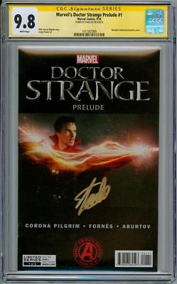 Doctor Strange Prelude #1 Cgc 9.8 Signature Series Signed Stan Lee Marvel Movie