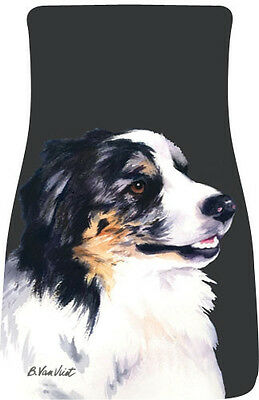 Car Floor Mats Pair - Australian Shepherd (BVV) 21059
