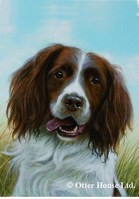 Large Indoor/Outdoor Portrait Flag - English Springer Spaniel (JS) 50080