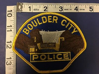 Boulder City Nevada  Police  Shoulder Patch