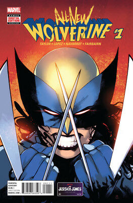 All New Wolverine #1 (NM)`16 Taylor/ Lopez/ Navarrot