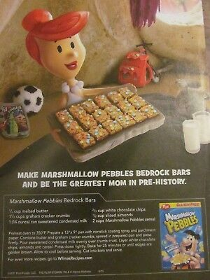 Post Marshmallow Pebbles, 2012, Full Page Print Ad