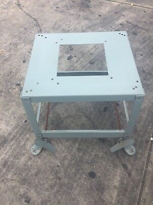 Delta Rockwell 10 Contractor Table Saw Stand Splayed Leg Casters Wheels Mobile