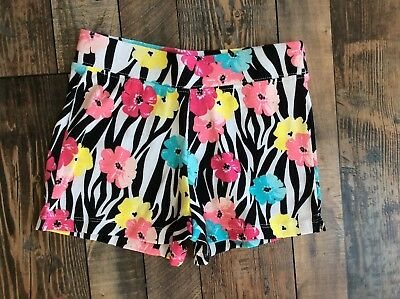 Nwt GYMBOREE Mix N Match GIRLS Pink Flowers Floral Knit Summer 2017 SHORTS 3t