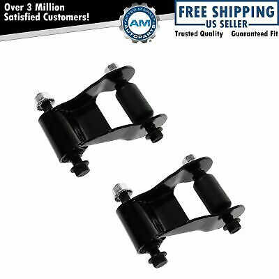 Rear Leaf Spring Shackle Kit L R PAIR SET for 97-04 F150 Heritage 97-99 F250 LD