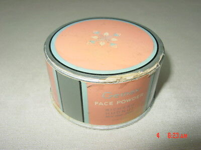 Vintage Face Powder Box Richard Hudnut Gemey Art Deco 1920's Empty Naturelle