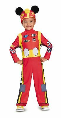 Classic Mickey Roadster Child Boys Costume and the Roadster Racers NEW Disney