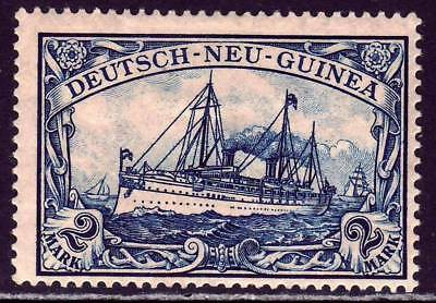 NEW GUINEA GERMAN COLONY Mi. #17 mint Kaiser Yacht stamp!