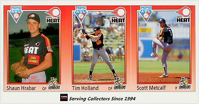 1992 Futera Australia Baseball Card Perth Heat Full Team Set (19) --Rare!