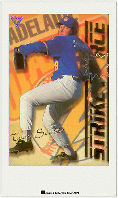 1995 Futera ABL Cards Strikeforce/ Firepower  SF-FP1 Troy Scoble/Barrie Bahnert