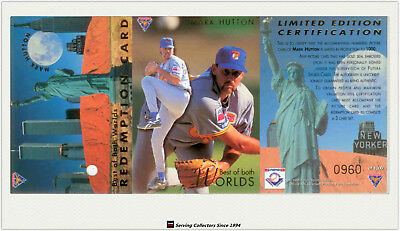 1995 Futera ABL Trading Cards BEST OF BOTH WORLDS CARD MARK HUTTON