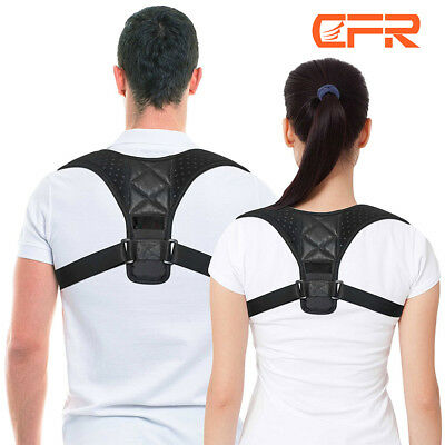 Posture Clavicle Corrector Back Support Straight Shoulders Brace Pain Relief AU