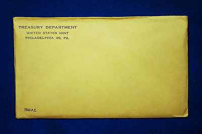 1960 U.S. PROOF SET. The envelope containing the set is sealed/unopened